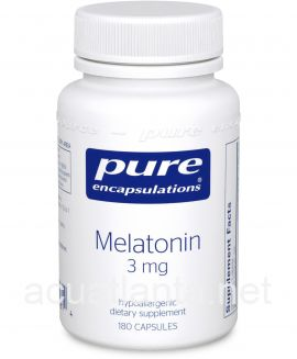 Melatonin 180 vegetarian capsules 3 milligrams