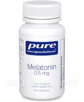 Melatonin 60 vegetarian capsules 0.5 milligrams