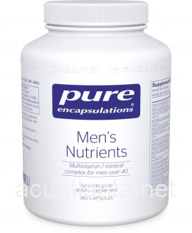 Men's Nutrients 360 vegetarian capsules