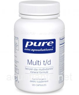 Multi T/D 120 vegetable capsules