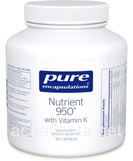 Nutrient 950 with Vitamin K 180 vegetarian capsules