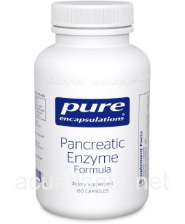 Pancreatic Enzyme Formula 180 vegetable capsules