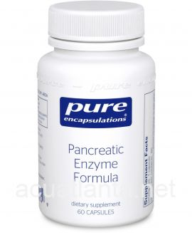 Pancreatic Enzyme Formula 60 vegetable capsules