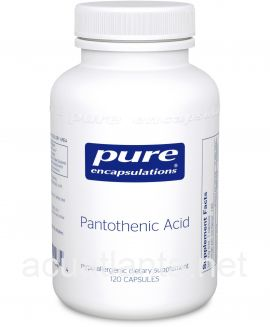 Pantothenic Acid 120 vegetarian capsules