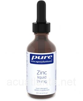 Zinc liquid 15 mg 120 milliliters