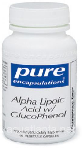 Alpha Lipoic Acid with GlucoPhenol 120 capsules