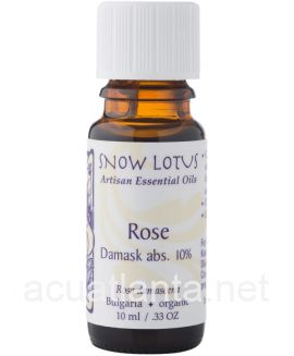 Rose (damask, absolute, 10%) Essential Oil 10 milliliters