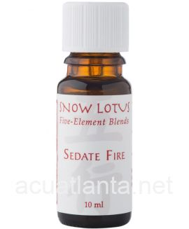 Sedate Fire Aromatherapy Blend 10 milliliters