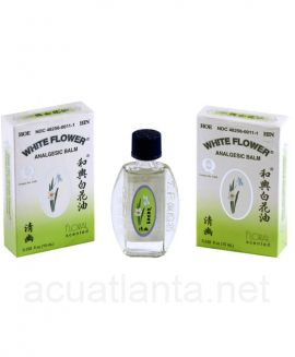 White Flower Balm 10 milliliters Floral