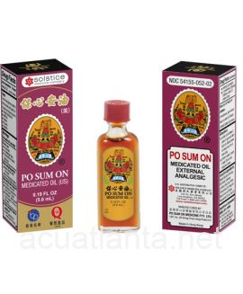 Po Sum On Medicated Oil 0.19 ounce liquid