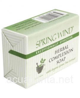 Spring Wind Herbal Complexion Soap 1 bar 3.5 oz