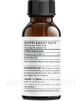 Vitamin K2 Liquid 30 milliliters