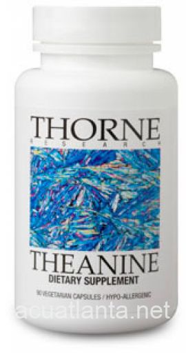 Theanine 90 capsules 200 milligrams