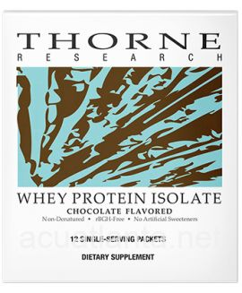 Whey Protein Isolate 12 packets Chocolate