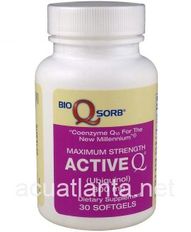 Active-Q Ubiquinol 30 soft gels 300 milligrams