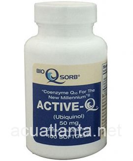 Active-Q Ubiquinol 100 soft gels 50 milligrams