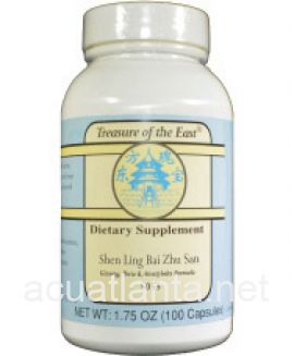 Shen Ling Bai Zhu San 100 capsules 500 milligrams 5:1 concentration