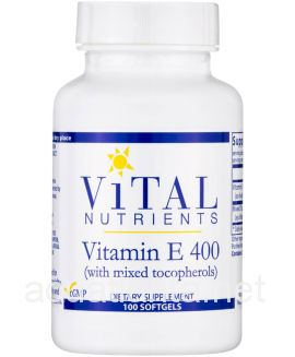 Vitamin E 400iu (Mixed) 100 softgel