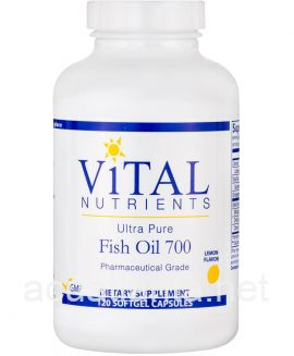 Ultra Pure Fish Oil 700 Enteric 120 sofgels