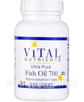 Ultra Pure Fish Oil 700 60 gel caps