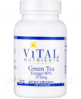 Green Tea Extract 120 capsules 275 milligrams