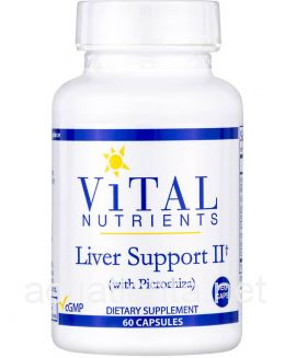 Liver Support II (with picrorhiza) 60 veggie capsules