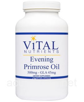 Evening Primrose Oil 250 500 milligrams