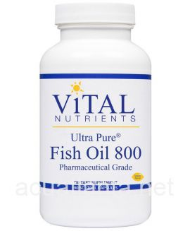 Ultra Pure Fish Oil 800 90 sofgels