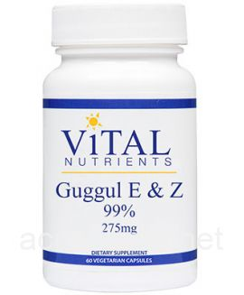 Guggul E & Z Extract 99% 60 capsules 75 milligrams