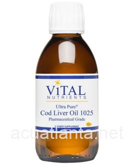 Ultra Pure Cod Liver Oil 1025 200 milliliters