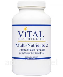 Multi-Nutrients II Citrate Form 180 capsules