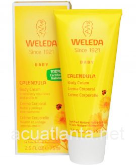 Baby Calendula Body Cream 2.5 oz