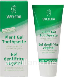 Plant Gel Toothpaste 2.5 oz