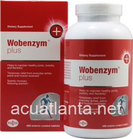 Wobenzym Plus 480 tablets