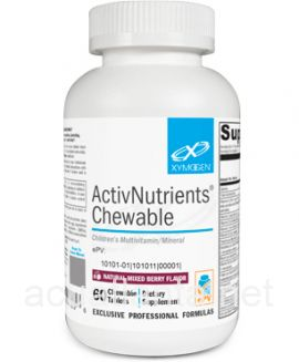 ActivNutrients Chewable 60 tablets Natural Mixed Berry