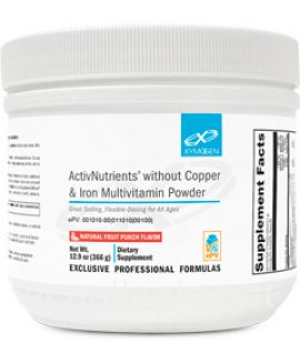 ActivNutrients without Copper & Iron Multivitamin Powder 60 servings Fruit Punch