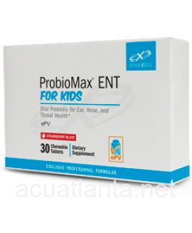 ProbioMax ENT for Kids 30 tablets Strawberry Blast