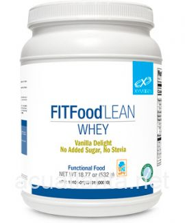 Fit Food Whey 14 servings 1 can Vanilla