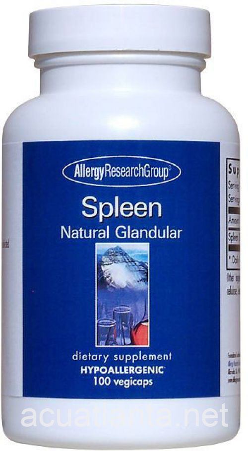 Spleen Natural Glandular by Allergy Research Group