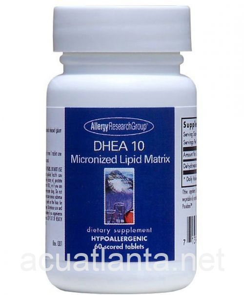 DHEA 60 tablets 10 milligrams