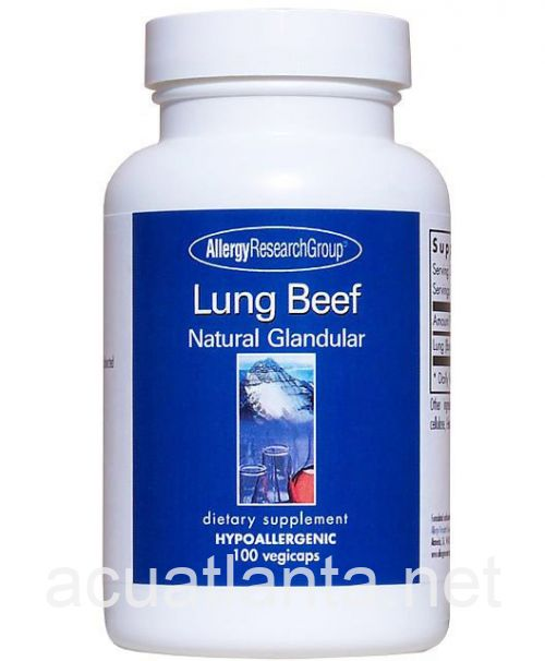 Lung Beef Natural Glandular 100 capsules
