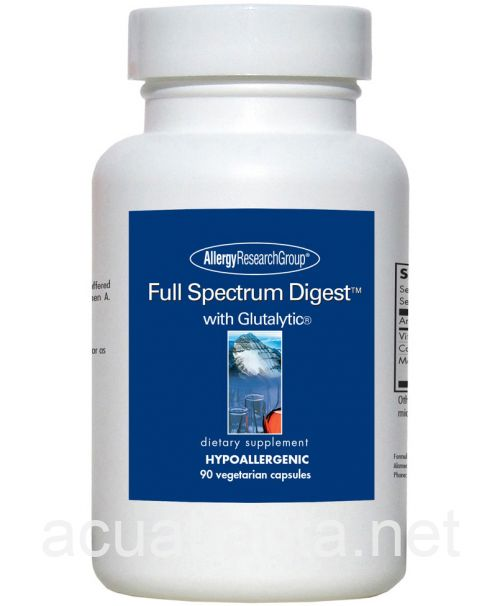 Full Spectrum Digest with Glutalytic 90 capsules