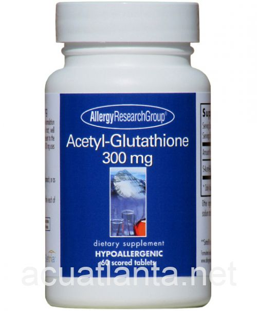 Acetyl Glutathione 60 tablets 300 milligrams