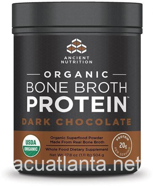Organic Bone Broth Protein 515 grams Dark Chocolate