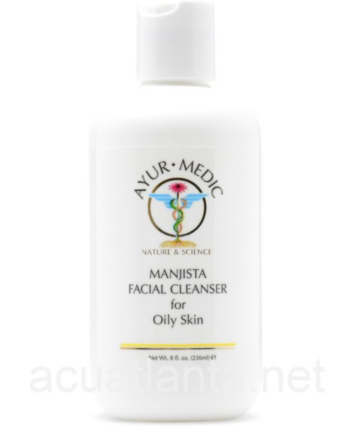 Manjista Facial Cleanser for Oily Skin 8 oz