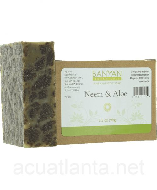 Neem & Aloe Soap 3.5 ounce