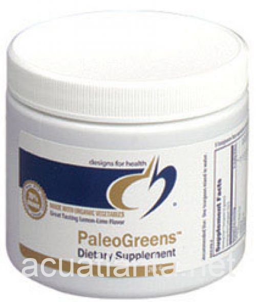 PaleoGreens Powder Drink Mix 270 grams Lemon Lime
