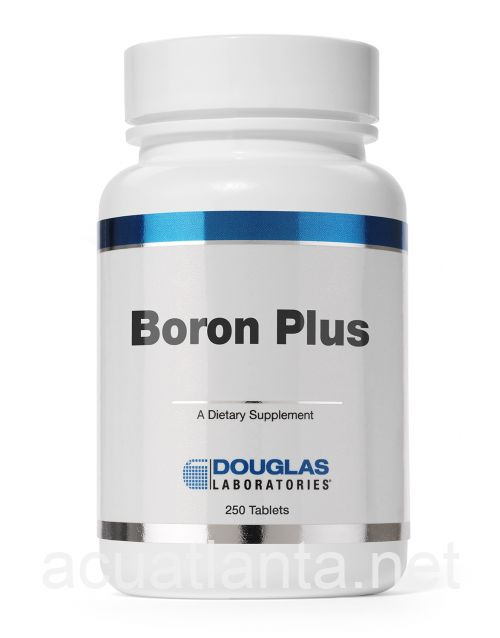 Boron Plus 250 count 6 milligrams