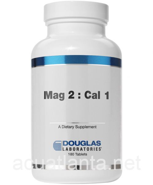 Mag 2:Cal 1 180 tablets