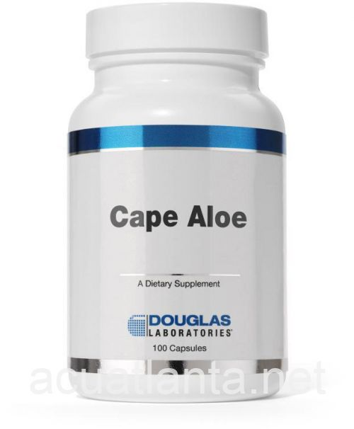 Cape Aloe 100 gelcaps 250 milligrams